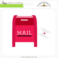 North Pole Mailbox - Here Comes Santa