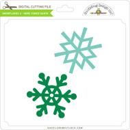 Snowflakes 2 - Here Comes Santa
