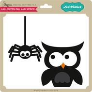 Halloween Owl Spider