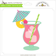 Umbrella Drink - Fun in The Sun