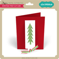 Christmas Tree Flap Card