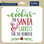Cookies For Santa Carrots