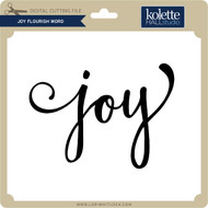Joy Flourish Word