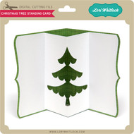 Christmas Tree Standing Card