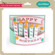 Flexi Card Happy Birthday