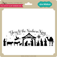 Full Nativity Glory Newborn King