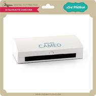 3D Silhouette Cameo Box