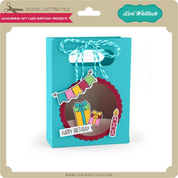 Shadowbox Gift Card Bag Birthday Presents 199 Image 1