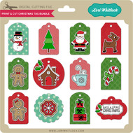 Print & Cut Christmas Tag Bundle