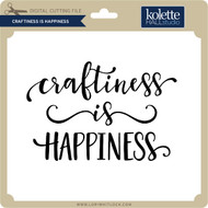 Craftiness is Happiness
