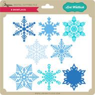 8 Snowflakes