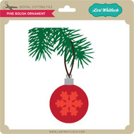 Pine Bough Ornament