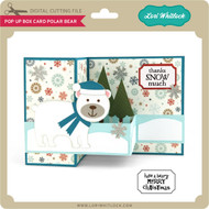 Pop Up Box Card Polar Bear
