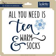 All You Need is Tea Warm Socks