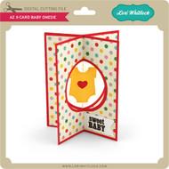A2 X-Card Baby Onesie