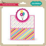 Peek A Boo Card Balloons