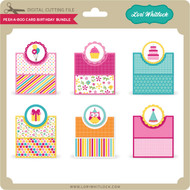 Peek A Boo Card Birthday Bundle