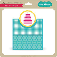 Peek A Boo Card Cake