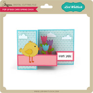 Pop Up Box Card Spring Chick