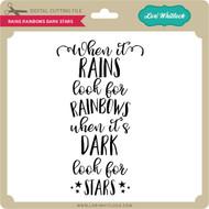 Rains Rainbows Dark Stars
