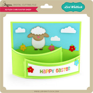 A2 Flexi Card Easter Sheep