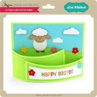 A2 Flexi Card Easter Sheep