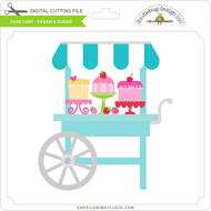 Cake Cart - Cream & Sugar