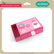 Matchbox Drawer Card Baby