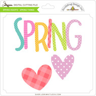 Spring Hearts - Spring Things