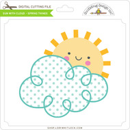 Sun With Cloud - Spring Things