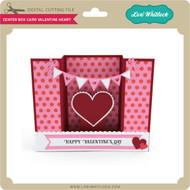 Center Box Card Valentine Heart