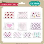 Love Stacking Card Base Bundle