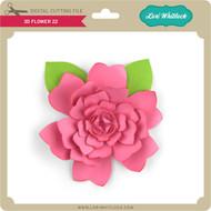 3D Flower 22