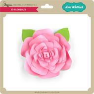 3D Flower 23