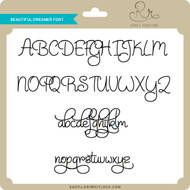 Beautiful Dreamer Font