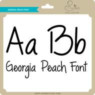 Georgia Peach Font