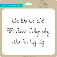 Sweet Calligraphy Font