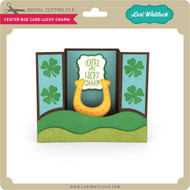 Center Box Card Lucky Charm