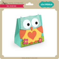 Owl Favor Box 3
