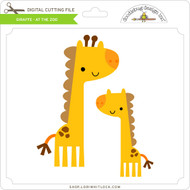 Giraffe  - At The Zoo