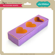 No Glue Box Hearts