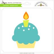 Cupcake 2 - Dragon Tails