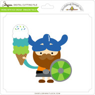 Viking with Ice Cream - Dragon Tails