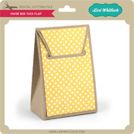 Favor Box Tuck Flap