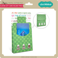 Sliding Gift Card Holder Tree
