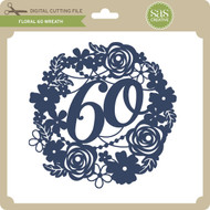 Floral 60 Wreath