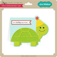 Turtle Shaped Birthday Card