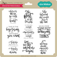 Graduation Phrase Bundle