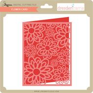 Flower Card 9