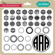 Mega Circle Monogram Set